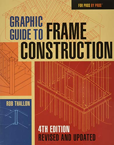 Compare Textbook Prices for Graphic Guide to Frame Construction: Fourth Edition, Revised and Updated For Pros by Pros 4 Edition ISBN 9781631863721 by Thallon, Rob