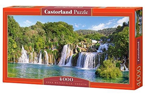 Castorland C-400133-2 - Cataratas de Krka, Croacia, Puzzlee 4000 Piezas, clásico Puzzle
