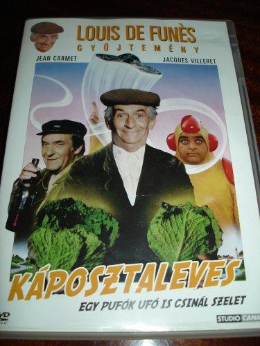 La Soupe Aux Choux [Region 2] (1981) / Eurpean PAL DVD / French 2.0 and Hungarian 2.0 sound / No English Options / Starring: Louis De Funès, Jean Carmet / Director: Jean Girault