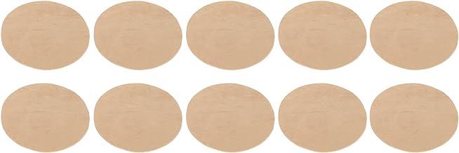 Elleboogreparatiestickers, gemakkelijk duurzame stof 5 paar ijzeren patches met lage prijs voor truijas(Khaki)