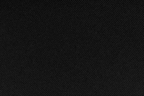 Tela para el coche (asientos, paneles, etc.), de color negro, con capa...