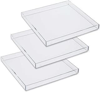 Mirart Acrylic Tray 10 x 10 (3 Pack)