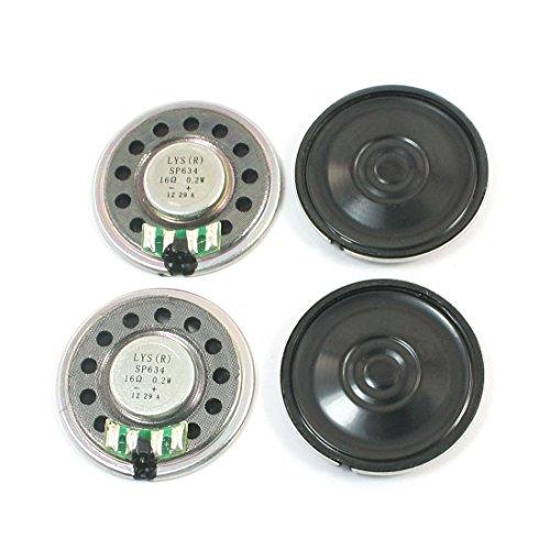 Aexit 36mm Redondo Metal Shell Amplificador Interno Altavoz Máquina de Aprendizaje Amplificador...