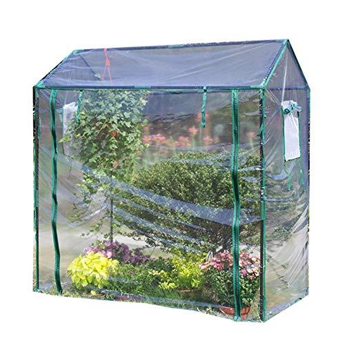 Plastico Invernadero Huerto Terraza Invernadero Claro para Exteriores Pequeño Espacio de Ahorro,...