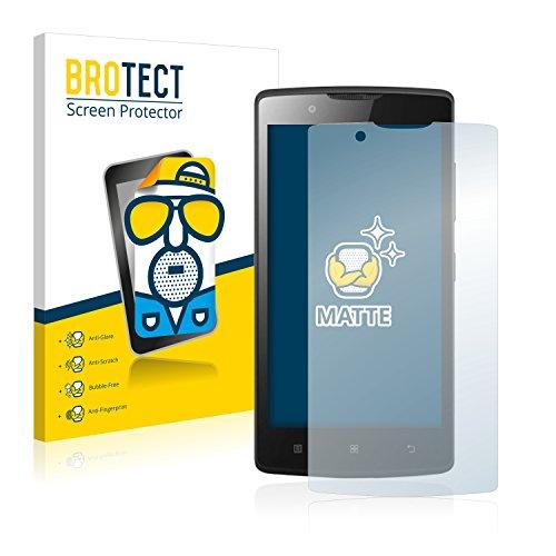 BROTECT 2X Entspiegelungs-Schutzfolie kompatibel mit Lenovo A2010 Bildschirmschutz-Folie Matt, Anti-Reflex, Anti-Fingerprint