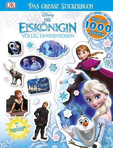 Disney Die Eiskönigin. Das große Stickerbuch: Mehr als 1000 Sticker