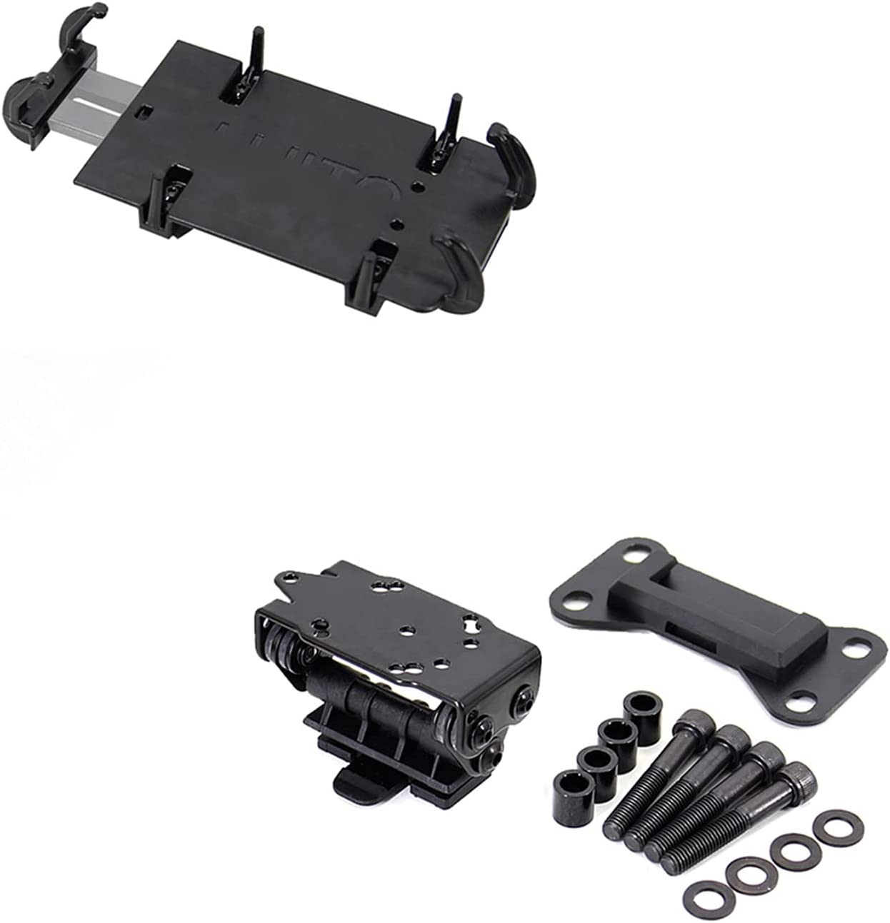 Tulsa Mall WQSM Motorcycle Black Mobile Bombing new work Phone Acce Stand GPS Holder Bracket