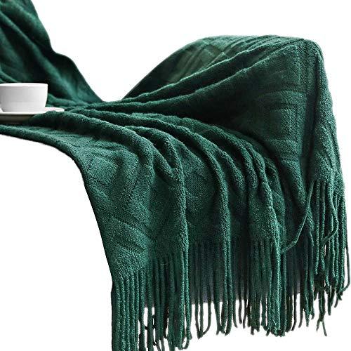 HaavPoos Decken für Sofa, Teji Decke