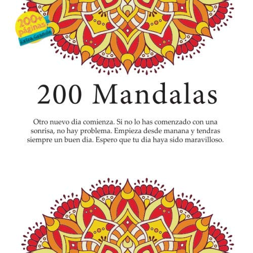 200 Mandalas - Otro nuevo dia comienza. Si no lo has comenzado con una sonrisa, no hay problema. Empieza desde manana y tendras siempre un buen dia. Espero que tu dia haya sido maravilloso.