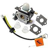 Huri Carburettor Fuel Hose Rubber Grommet Kit for Zama C1U K54A for Mantis Tiller 7222SV 4B Echo...