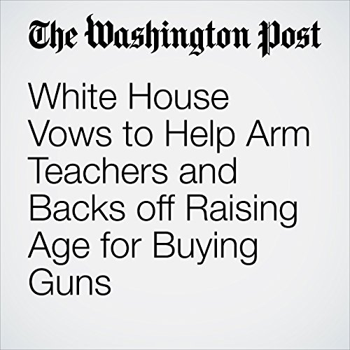 White House Vows to Help Arm Teachers and Backs off Raising Age for Buying Guns copertina