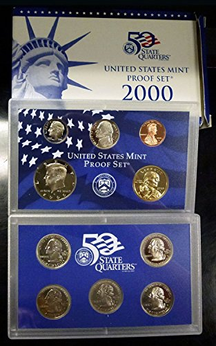 2000 State Quarters Mint Proof Uncirculated