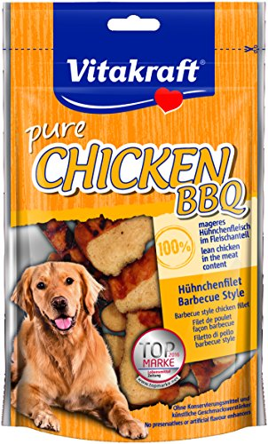Vitakraft Chicken BBQ, Hühnchenfilet, 8er Pack (8 x 80 g)