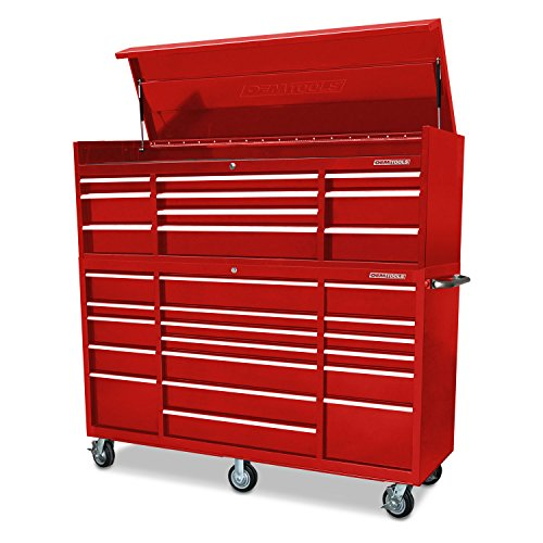 OEM TOOLS 24587 Red 72' 26 Drawer Chest and Cabinet Combo