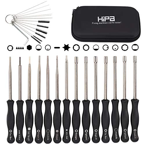 Hipa Pack-of-14 Carburetor Adjustment Tool Carburator Adjusting Kit for 2-Cycle Small Engine Compatible with Poulan STHIL Echo Ryobi Troy Bilt Trimmer Weedeater Chainsaw