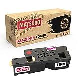 Matsuro Originale   Compatible Cartouches de Toner Remplacement pour Dell C1660 (1...