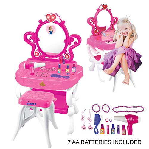 2-in-1 Musical Piano Vanity...