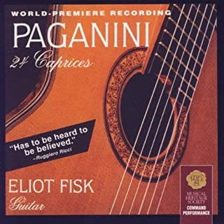 Paganini 24 Caprices by Fisk, Eliot (2003-06-10)