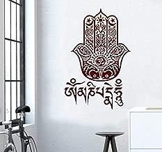 pegatina mandala Tatuajes de pared Yoga Vibes Fatima Mano Hamsa ...