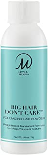 Leyla Milani Hair Volume Booster, Texturizing Salon Styling Matte Powder for Sexy Hair, Odorless, Invisible, Translucent, Hair Care, Big Hair Don't Care - msrp $23