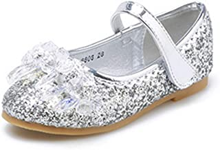 07a86d378937 Raylans Girl s Glitter Mary Jane Crystal Sparkle Princess Party Dress Dance  Shoes
