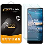 (3 Pack) Supershieldz for Nokia C5 Endi Tempered Glass Screen Protector, Anti Scratch, Bubble Free