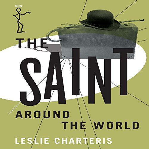 The Saint Around the World audiobook cover art