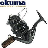 Okuma Custom Black CB-80 - Brandungsrolle zum Meeresangeln auf Dorsch & Plattfisch, Angelrolle zum Brandungsangeln, Weitwurfrolle