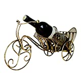LIAOLEI10 Weinregal Fahrrad Modell Weinregale Klassische Weinhalter Barware Zubehör Weinregal Küchenartikel Dekoration