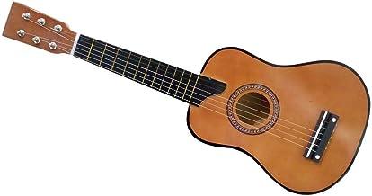 الغيتار الصوتية الصغيرة - هدية عظيمة للأطفال الألوان البني