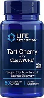 Life Extension Tart Extract with CherryPure 60 Vegetarian Capsules