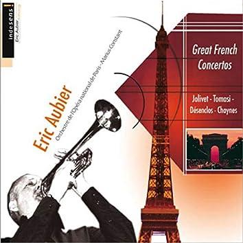 Grands concertos français (Jolivet, Tomasi, Désenclos, Chaynes)