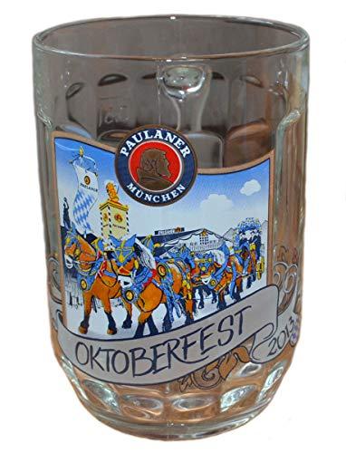Paulaner Bierglas/Seidel München - Oktoberfest München 2013 - Editionsglas