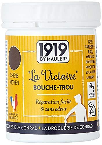 """Pâte à bois chêne moyen - bouche-trou meuble, parquet, bois… acrylique """"La Victoire"""" 250gr"""