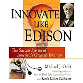 Innovate Like Edison audiobook cover art