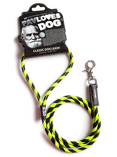 Original Lanyards® Pav Loves Dog – styliche Laisse pour chien/animaux Laisse 120 cm de long