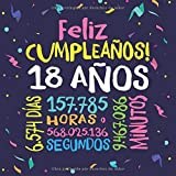 Feliz Cumpleaños - 18 Años: Un libro de visitas para fiesta de 18 cumpleaños – Decoración y regalos originales para hombres y mujeres - 18 años - ... para felicitaciones y fotos de los invitados
