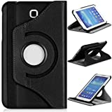 Samsung Galaxy Tab 3 7.0 SM-T217S 7-Inch Case,Samsung Tab3 P3200 Tablet Case,360 Rotating Leather Stand Case Cover for Galaxy Tab 3 7.0 Back Case