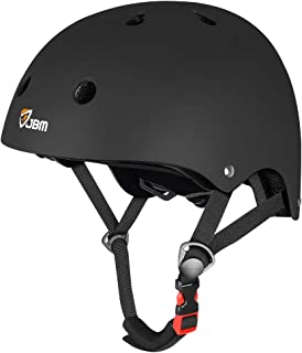 JBM Skateboard Helmet CPSC ASTM Certified Impact Resistance Ventilation for Multi-Sports..