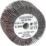 Proxxon 28563 - Rullo abrasivo per levigatrice a rullo was/E e was/A, Ø 50 x 30 mm, grana 240