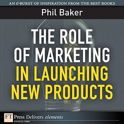 The Role of Marketing in Launching New Products audiobook cover art