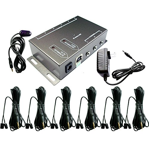 IR Repeater,IR Remote Control Extender,Infrared Repeater System (6...