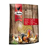 Quiko Hobby Farming – Comida para Huevos, 500 g, es un alimento Rico en proteínas para Pollos, codornices y Aves de Corral.