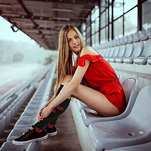 Kompressionsstrümpfe Sneaker Socken Herren Damen Laufsocken Sprunggelenkschutz und Mittelfußstütze für Laufen Radfahren Erholung Blutzirkulation - 2
