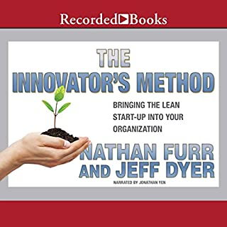 The Innovator's Method audiobook cover art
