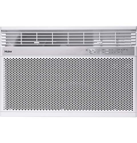 Haier 10,000 BTU 115-Volt Smart Window Air Conditioner, Energy Star humidty-Meters, 115V
