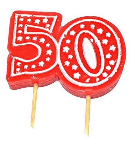 Aptafetes - Bougie anniversaire 50