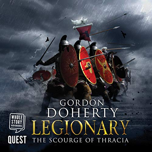 Legionary: The Scourge of Thracia cover art