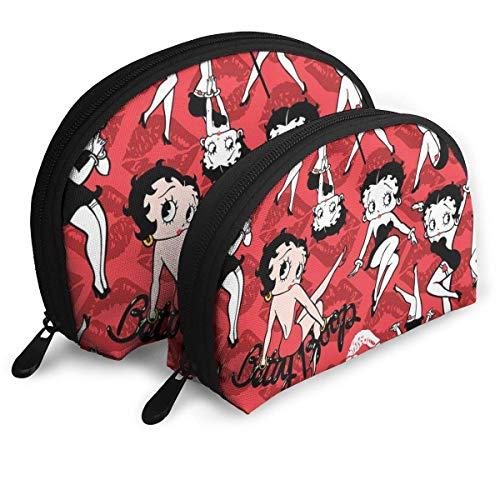 Betty Boop - Bolsa de maquillaje profesional para mujer