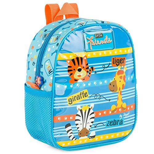 SKPAT - Backpack for Children with Isothermal Lining. Back Name Label 132104, Color Blue